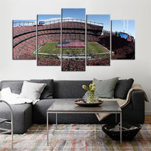 Load image into Gallery viewer, Denver Broncos Stadium 5 Pieces Wall Painting Canvas