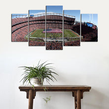 Load image into Gallery viewer, Denver Broncos Stadium Canvas 2