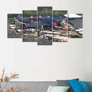 New England Patriots Stadium Canvas 2