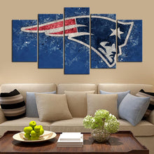 Load image into Gallery viewer, New England Patriots Techy Look Canvas