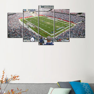 New England Patriots Stadium Canvas 6