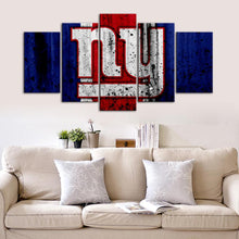 Load image into Gallery viewer, New York Giants Rough Look Canvas