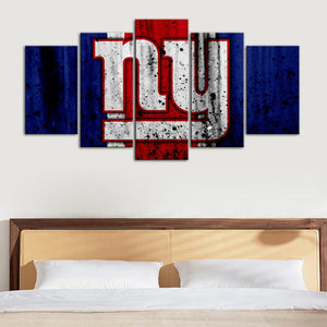 New York Giants Rough Look Canvas