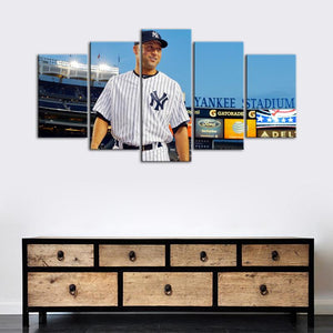 Derek Jeter New York Yankees Canvas