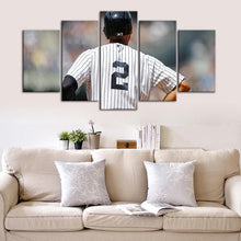 Load image into Gallery viewer, Derek Jeter New York Yankees Canvas 2
