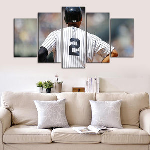 Derek Jeter New York Yankees Canvas 2