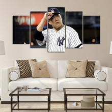 Load image into Gallery viewer, Masahiro Tanaka New York Yankees Canvas 5 Pieces Wall Painting Canvas