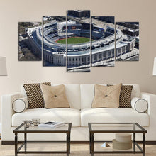Load image into Gallery viewer, New York Yankees Areal View Stadium Canvas 2