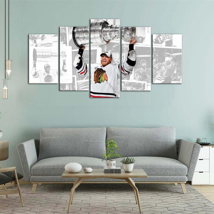 Stanley Cup Champions Chicago Blackhawks Canvas 2