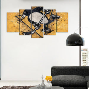 Pittsburgh Penguins Techy Look Canvas