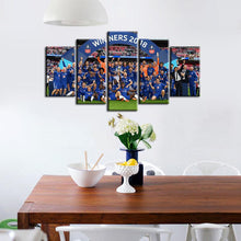 Load image into Gallery viewer, Chelsea F.C. Winner 2018 5 Pieces Wall Painting Canvas