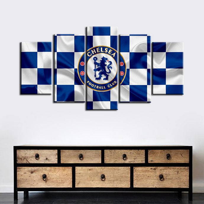 Chelsea F.C. Fabric Flag Look Canvas