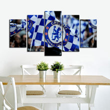 Load image into Gallery viewer, Chelsea F.C. Small Flag Canvas