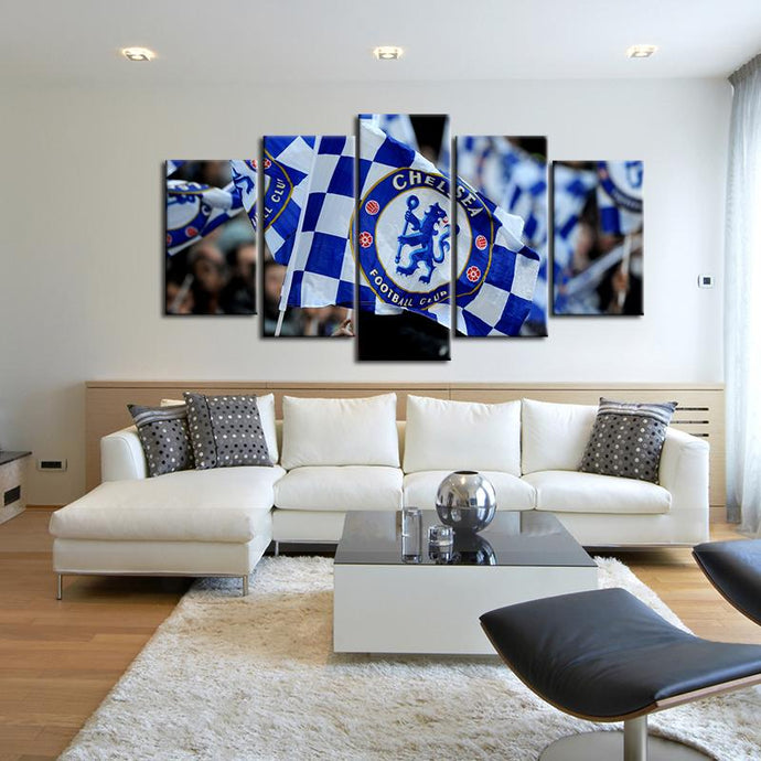 Chelsea F.C. Small Flag Canvas