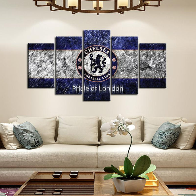Chelsea F.C. Pride Of London Canvas