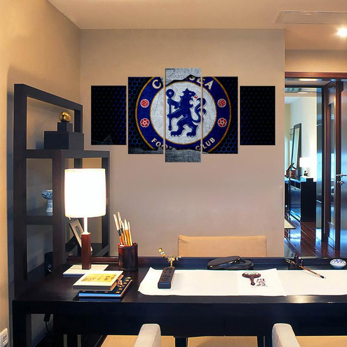 Chelsea F.C. Metal Look Canvas