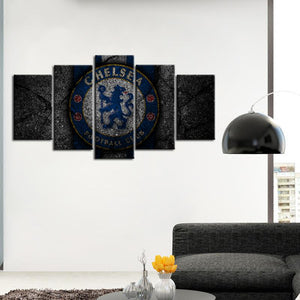 Chelsea F.C. Rock Style Canvas