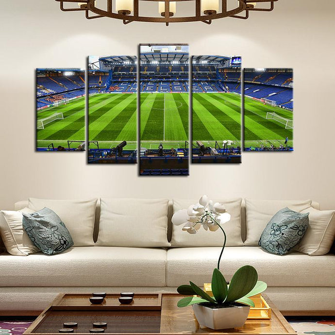 Chelsea F.C. Stadium Wall Canvas 1