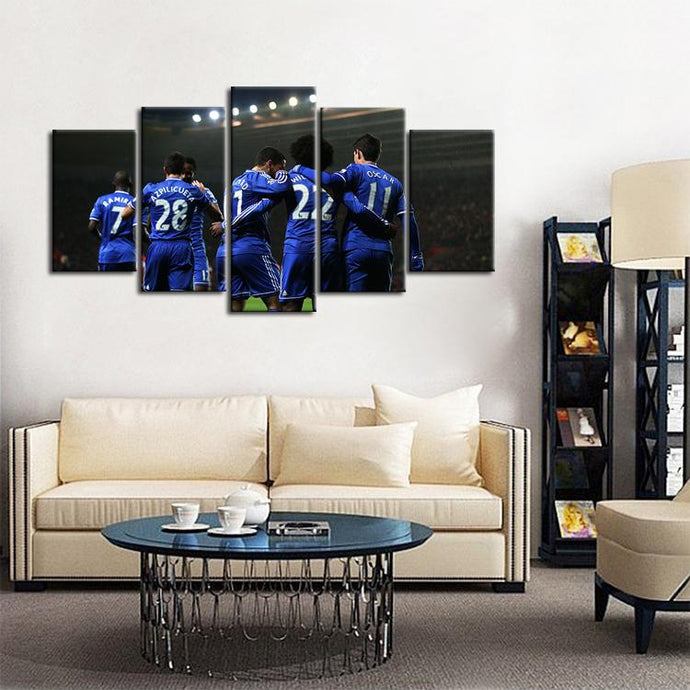Chelsea F.C. Team Up Canvas