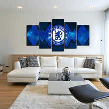 Load image into Gallery viewer, Chelsea F.C. Diamond Cuts Canvas