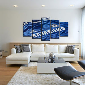 Chelsea F.C. Shirt 5 Pieces Wall Painting Canvas