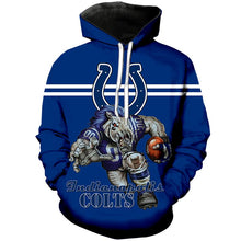 Load image into Gallery viewer, Indianapolis Colts 3D Hoodie