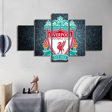 Load image into Gallery viewer, Liverpool  F.C Modern Wall Art Canvas