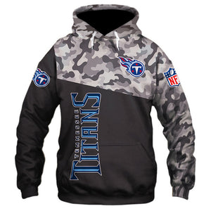 Tennessee Titans 3D Hoodie