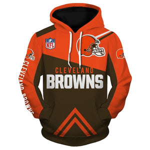 Cleveland Browns 3D Hoodie