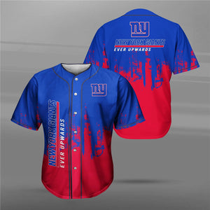 New York Giants 3D Baseball Shirt