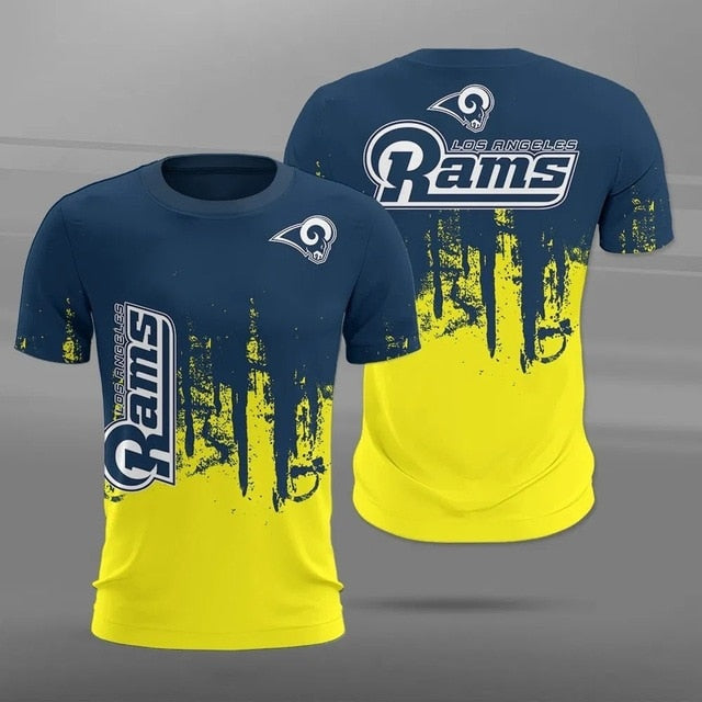 Los Angeles Rams 3D T-Shirt