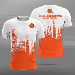 Cleveland Browns 3D T-Shirt