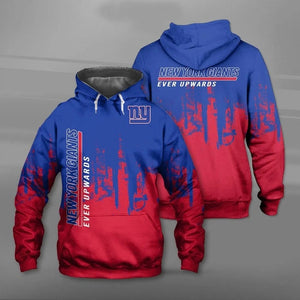 New York Giants 3D Hoodie