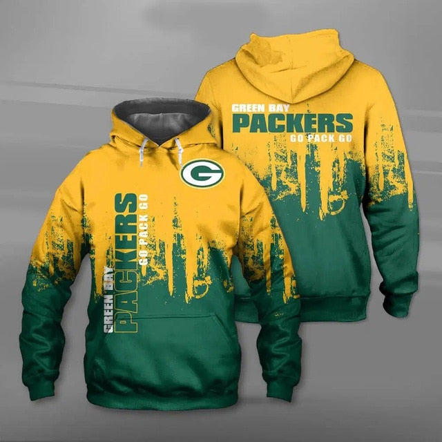 Green Bay Packers 3D Hoodie