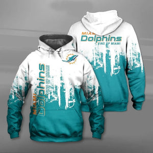 Miami Dolphins 3D Hoodie