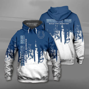 Indianapolis Colts 3D Hoodie