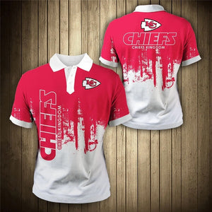 Kansas City Chiefs 3D Polo Shirt