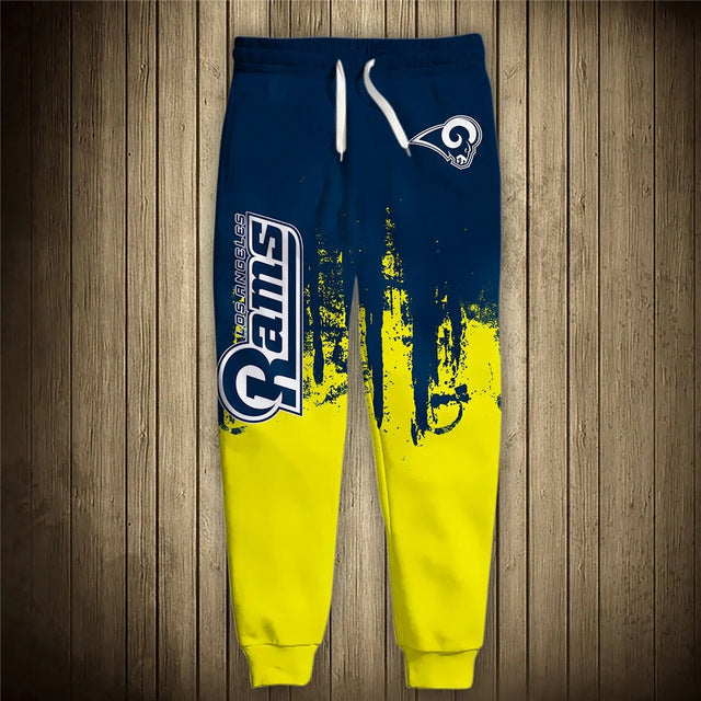 Los Angeles Rams 3D Sweatpants