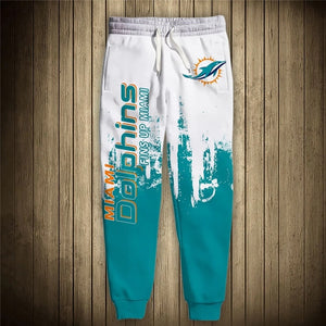Miami Dolphins 3D Sweatpants