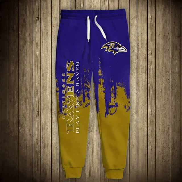 Baltimore Ravens 3D Sweatpants