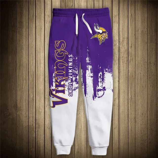 Minnesota Vikings 3D Sweatpants