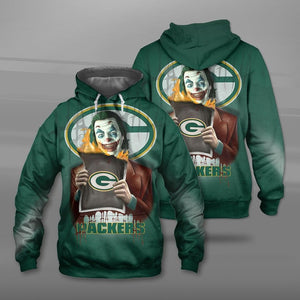 Green Bay Packers Joker Hoodie