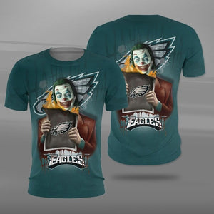Philadelphia Eagles Joker T-shirt