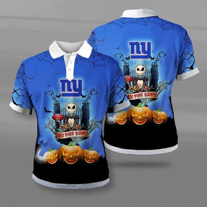 New York Giants Halloween Polo Shirt