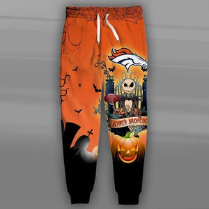 Denver Broncos Halloween Sweatpants