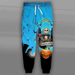 Los Angeles Chargers Halloween Sweatpants