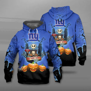 New York Giants Halloween Hoodie