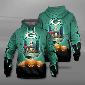 Green Bay Packers Halloween Hoodie