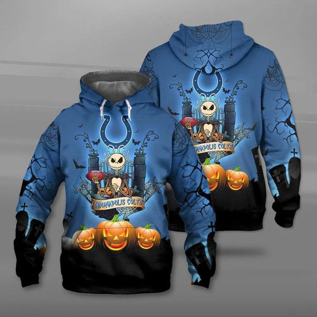 Indianapolis Colts Halloween Hoodie