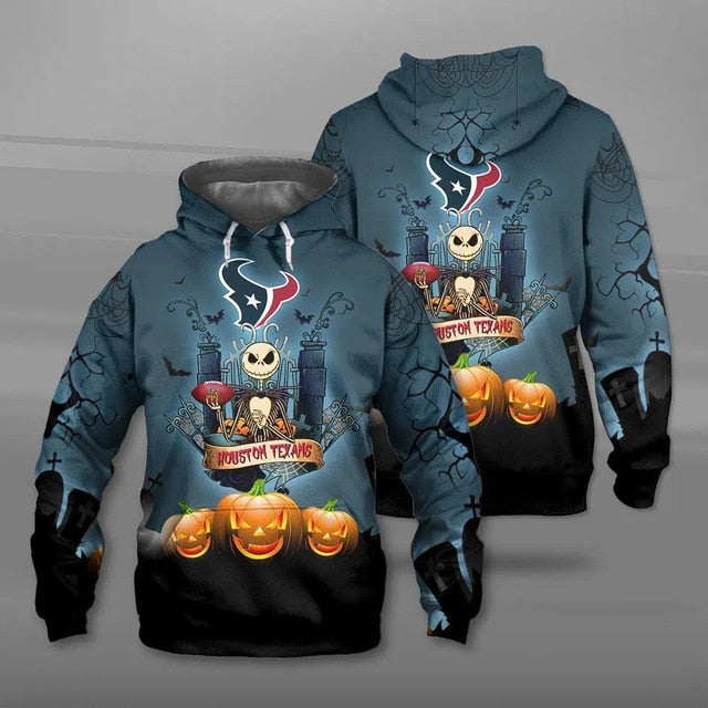 Houston Texans Halloween Hoodie